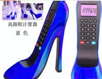 2016 la mode des calculatrices fournitures scolaires de bureau Creative mode mini chaussures à talons hautes calculatrice