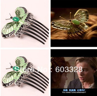 Wholesale TITANIC Rose butterfly hairpin hair clip comb accessories beautiful hairpin