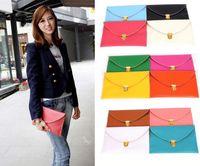 Women womens wholesale handbags - 200PCS Womens Envelope Clutch Chain Purse Lady Handbag Tote Shoulder Hand Bag colors
