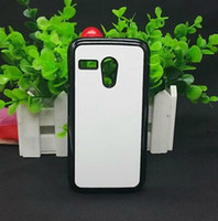 Wholesale For Motorola Moto G DIY Blank sublimation hard plastic case with metal aluminium sheet with glue sticker