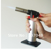 Wholesale gas torch NEW Chef Brulee Blowtorch Jet Flame Torch Cooking Soldering Welding Brazing