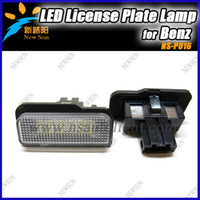 NS-P016 Mercedes-Benz LED Newest Design Car Light For Benz W203(5D) wagon, W211,W219 License light, led license plate lamp
