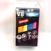 Wholesale T17231a Max Power V8 Microfiber Cloth Set Super Absorbent Household Cleaning Cloth For Car amp Home