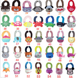 Wholesale Baby Bibs Halloween Christmas Cartoon Toddler Kid Bib baby Feeding infant bibs disposable Models