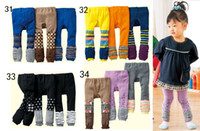 Leggings & Tights Girl Spring / Autumn Wholesale-NEW Nissen pants tights mixed colors children's PP pant baby tight kids trousers-YFF1000F