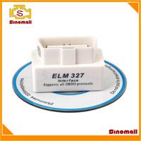 Wholesale New ELM SUPER MINI ELM327 Bluetooth OBD2 V1 White Smart Car Diagnostic Interface Wireless Scan Tool