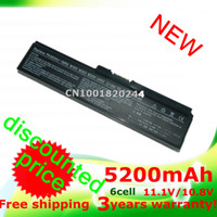 toshiba laptops - 5200mAH laptop Battery For TOSHIBA Equium U400 Portege M800 Satellite A655 A660 A665 A665D C645D C650 L510 L515 L600