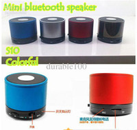 Wholesale MINI Speaker Portable Wireless Bluetooth Speaker Multi color with retail box packaging pc