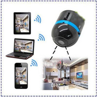 Wholesale World s Smallest Wifi Wireless Mini Surveillance spy Camera IP Cam Ai ball Hot selling