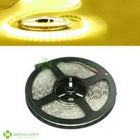 Cheap 5M 5050 300LED Strip Light car DRL DIY tape lamp Black PCB Waterproof IP65 DC12V+AC 100-240V To DC 12V 2A Power Supply Adapter Plug