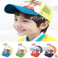 Boy Summer Ball Cap Fashion New baby caps Summer Spring Unisex Children's Baby Sun Hat Cap Straw Hat baby Summer Caps