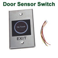 Wholesale LED Indication Infrared Sensor Switch No Touch Contactless Door Release Exit Button