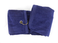Wholesale Cotton Velvet Golf Towel Random Color