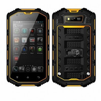 Wholesale Hummer H5 g Smartphone quot mtk6572 Dual core Capacitive Screen Ip68 Waterproof Shockproof Dustproof GPS Smart Phone Unlocked Black
