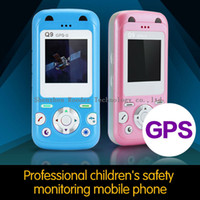 GPS Tracker Yes 88mm * 42mm * 15mm Promotion gps tracker child cell phone Designed for children Speedy Dialing Low Radiation