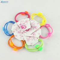 Headwear Yes Animal Free shipping 10pcs lot Wholesale Retail Popular Hair accessories Heart Hair band Exclusive elastic for hair Unique hair loops