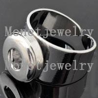 D00106 nickel plating small noosa ginger womens and mens ring jewelry specialized for 12mm small chunk jewelry