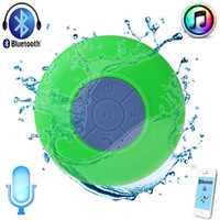Wholesale New arriver colors Mini Wireless Bluetooth Waterproof portable Speaker BTS for Mobile phones PC Laptop Bathrom in car with built in mic