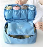 Wholesale Korea Travel Pouch versatile bra underwear storage bag carrying bag wash bag finishing