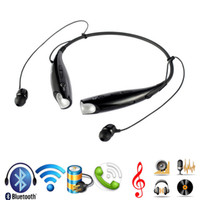 Wholesale Wireless Stereo Bluetooth Headphone Headsets HB Neckband Style Earphone for iPhone Nokia HTC Samsung LG Bluetooth Cellphones