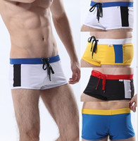 Wholesale mens beach mma underwear surf gym shorts Man running sport active swimming trunks boardshorts quickly dry clothing jogging with Tie Front