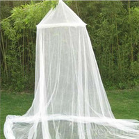 100% Polyester HG-0046  ELEGANT ROUND LACE INSECT BED CANOPY NETTING CURTAIN DOME MOSQUITO NET OUTDOOR HG-0046
