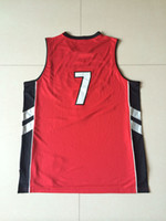 Wholesale Top Quality Revolution Swingman Basketball Jerseys Kyle Lowry Black Red Embroidery Logo Name Mix Order