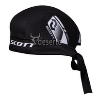 Wholesale Scott Team Outdoor Sports Bicycle Scarfs Perspire Hats Cycling Caps Bike Riding Headbands Black