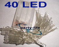 Battery Powered 40 LED Fairy String Lights 4M For Wedding Pa...