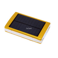 Wholesale 80000 mAh solar portable power bank universal adaptable for Apple iPhone iPad SAMSUNG HTC Sony