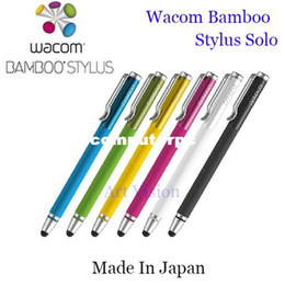Wholesale Wacom Bamboo Stylus solo pen for Ipad for Iphone for Samsung