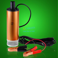 Wholesale New Original V DC MINI Diesel Fuel Water Oil Car Camping Submersible Transfer Pump SV000252