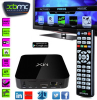 Cheap 1GB MX Android TV BOX Best 8GB Black MX2 Android TV BOX