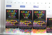 Unisex 8-11 Years Multicolor Krazy loom bands kit NEON bands (1000 bands +24S ) Bracelet Loom bands Refill