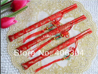 Wood wood dragon - Wood Chinese wedding chopsticks with Chinese knot printing Double Happiness and Dragon wedding gift favor