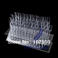 Bath Brushes Set & Kit Guangdong, China (Mainland) New 64 Tips Pop Sticks Nail Art Tips Nail Display Stand Nail Practice Training Tool Removable Rack + Display Plate 5787