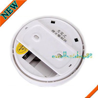 Fire ELC-YW948 White Home security system Cordless Smoke Detector Fire Alarm + 9V battery