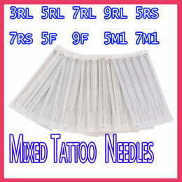 Wholesale New Disposable Sterile Tattoo Needles MixSize RL RS F M1