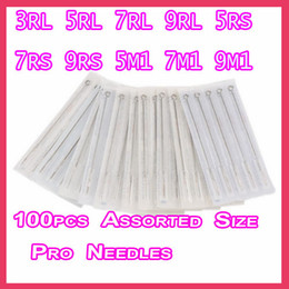 Wholesale New Disposable Sterile Tattoo Needles MixSize RL RS M1