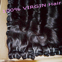 Wholesale 5 bundles Peruvian Hair Body Wave Grade A Can Be curled Cheap Human Hair Weave Extensions g pc Hair Weft
