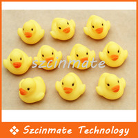 Wholesale Baby Kids Bath Water Toy Rubber Yellow Ducks Children Swiming Gifts