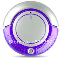 Wholesale 3 in Mini Robot Vacuum Cleaner Vacuum Sweep Mop Removable Side brushes Beautiful Flashing LED Lights Working Modes