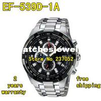 Wholesale EF D AV NEW Mens Sport D Chronograph Watch EF D Stainless Steel Gents Wristwatch