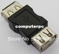 Wholesale EPACKET A Female to A Female USB Adapter Converter