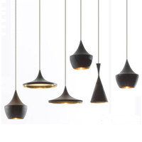 Modern beat lights - Beat Light Tall Fat Wide Lamps Lighting Fixtures Bar Dining Romm Bedroom AC110 V Aluminum Pendant Lamps Free EMS