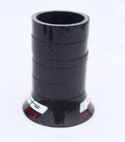 Wholesale full carbon fiber bicycle headset spacer washer set for fork bike parts headset pad ring mm bike accessories