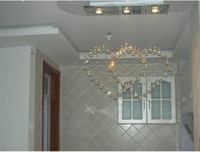 Wholesale crystal beaded door curtain cheap crystal chandelier led crystal chandelier restaurant light art deco crystal chandelier