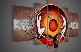 Figurative Oil painting hand-painted oil wall art oil painting on canvasFI-018