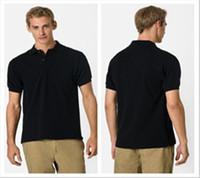 Men Cotton Polo la, have logo, New 2014 dudalina summer famous men t shirt, Designer 100% cotton t shirt , casual men t shirts.Free shipping
