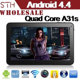 """8gb tactile en Ligne-10.1 """"Android 4.2 Quad Core Tablet PC Allwinner A31s Quad Core 1.2G comprimés HZ avec Bluetooth tactile capacitif Tablet PC"""